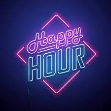 Happy Hour from 4pm every Thursday and Friday